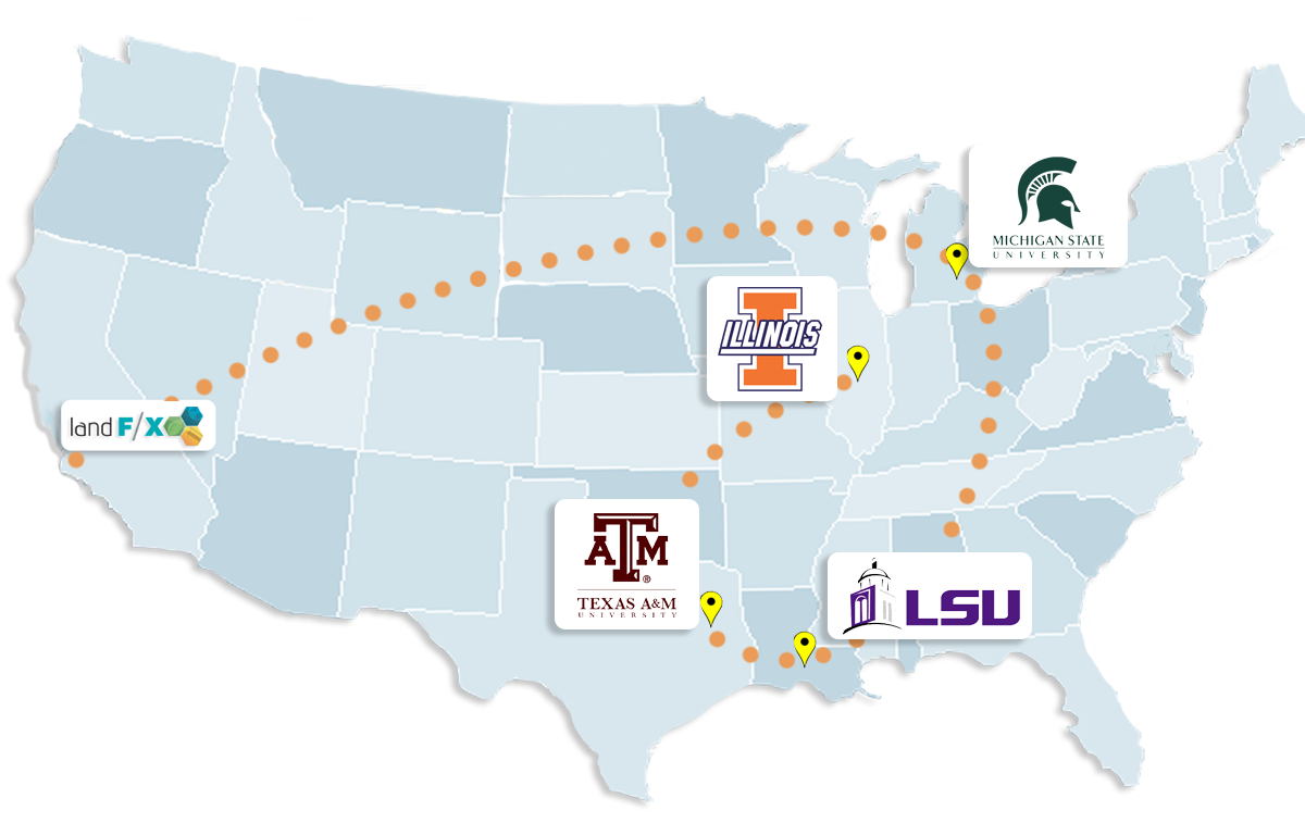 University Tour Map