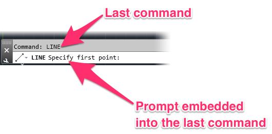 The AutoCAD Command Line