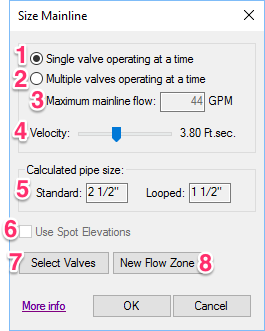1 Single Valve Operating At A Time Is Common For Smaller System After One Operates Given