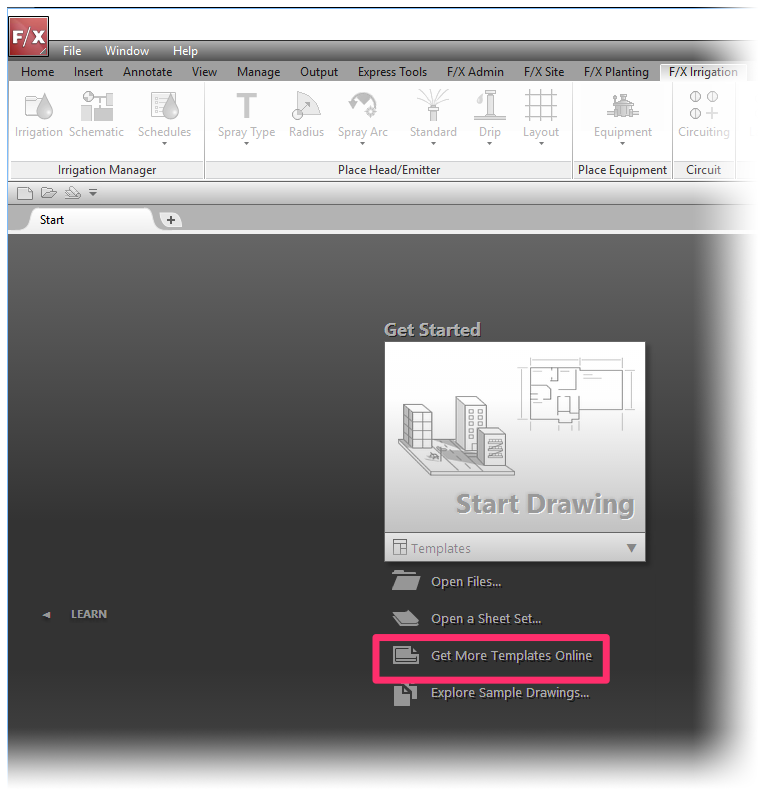 Download The Default AutoCAD Drawing Templates (DWT Files