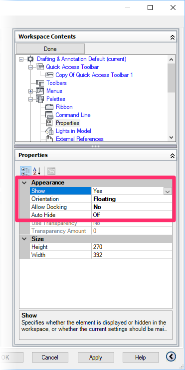 Layer Properties Manager or Properties Panel is Missing