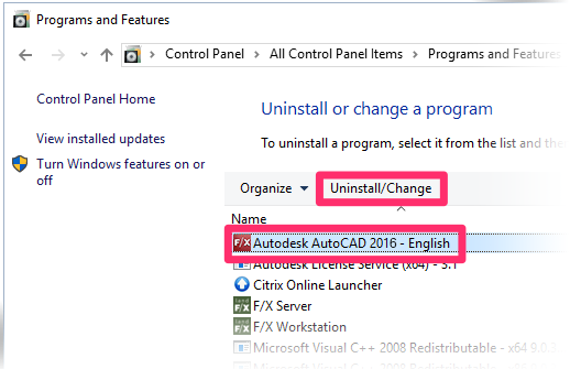 Autodesk autocad 2016 clean uninstall | AutoCAD For Mac