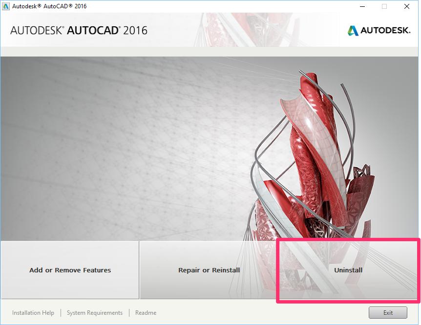 Uninstall & Reinstall F/X CAD or AutoCAD