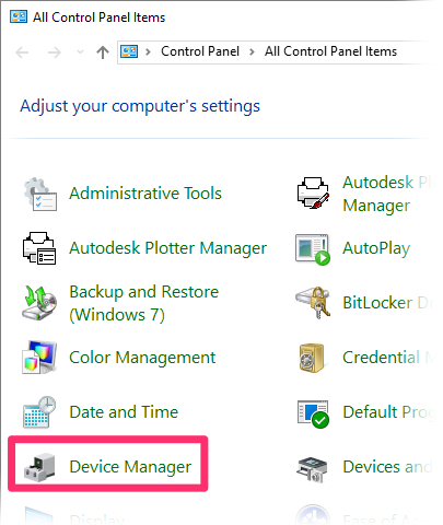autocad how to open recovery manager