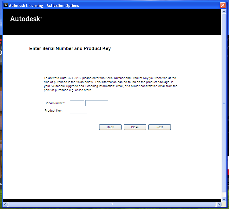 2007 Serial Key FREE Activation FREE FULL Autodesk autocad 2010 produ.