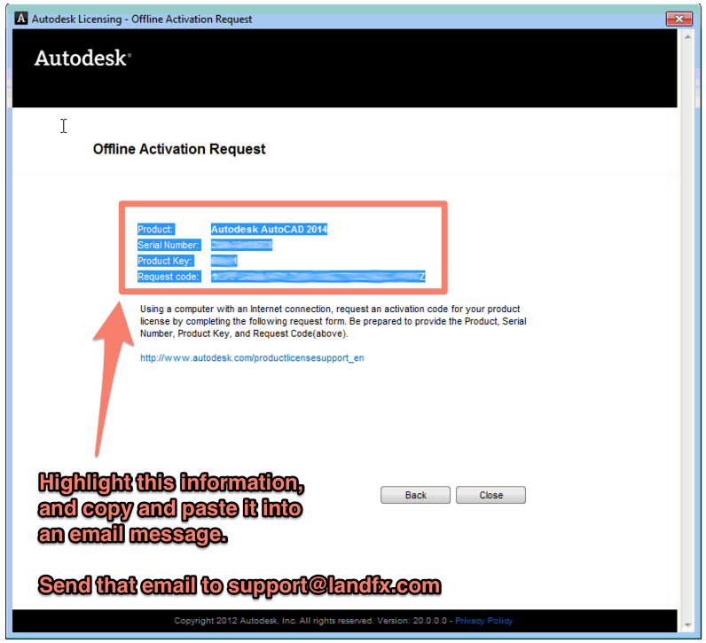 Generate Autodesk Activation Code From Request Code ...