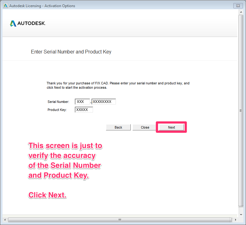 autodesk 2017 serial number and product key