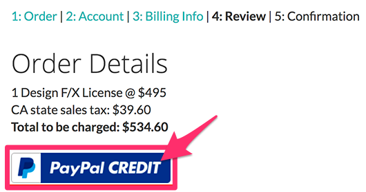 How to Purchase Land F/X Software Via PayPal Credit
