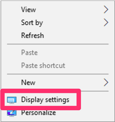 Check or Change Your Screen Resolution (Windows 10)