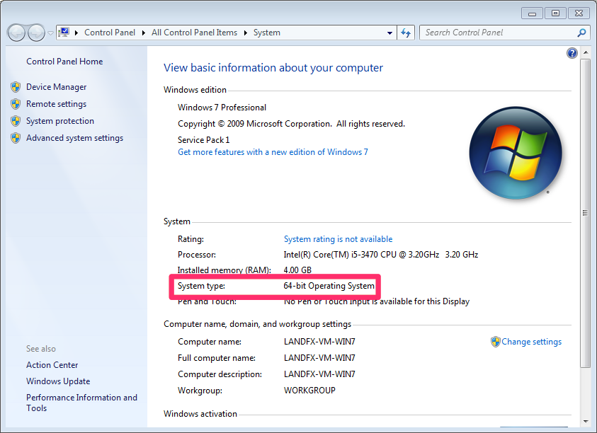 how to tell what windows you have 64 bit