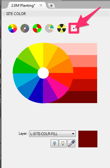 paint.net how to add color wheel
