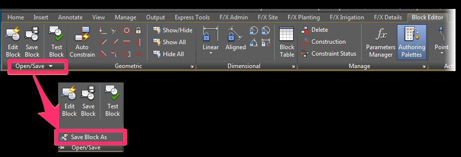 Saving & Editing Dynamic Blocks