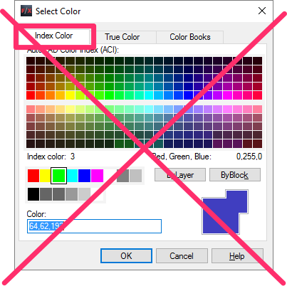 The AutoCAD Index Color Palette Is Generally Reserved For Dependent Plot Styles And It Offers Only 255 Options