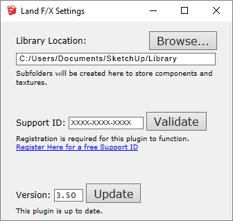 SketchUp: Settings Tool (Including How to Update our