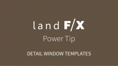 Power Tip: Detail Window Templates