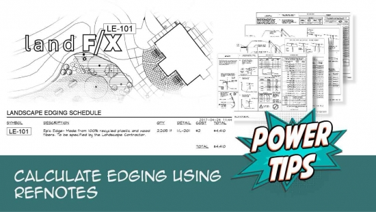 Power Tip: Calculate Edging Using RefNotes