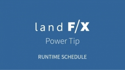 Power Tip: Runtime Schedule