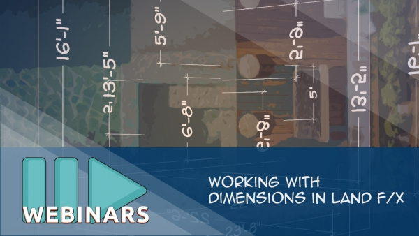 Working with Dimensions in Land F/X