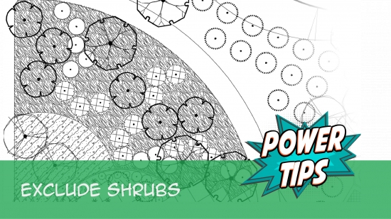 Power Tip: Exclude Shrubs