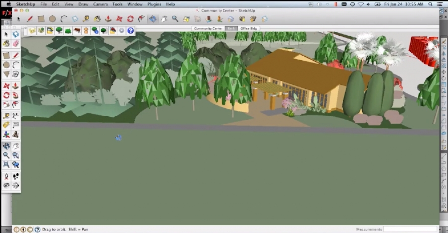 Getting Started with the Land F/X SketchUp Plugin