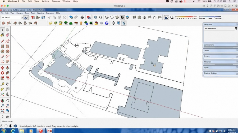 The Land F/X SketchUp Connection:  Basics