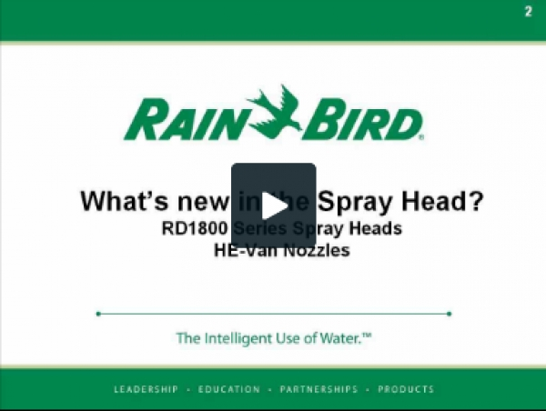 Manufacturer Spotlight: RainBird