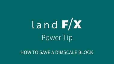 Power Tip: How to Create a Dimscale Block