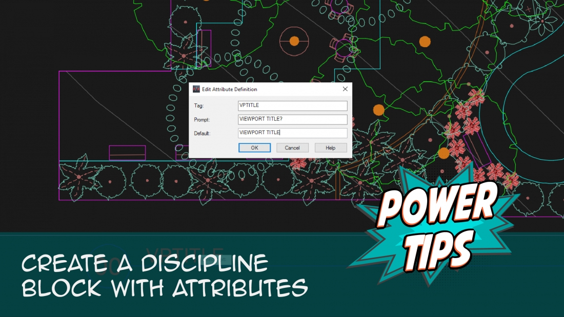 Power Tip: Create a Discipline Block with Attributes
