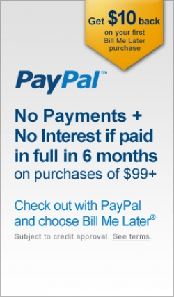 Now Available: PayPal Payment Options