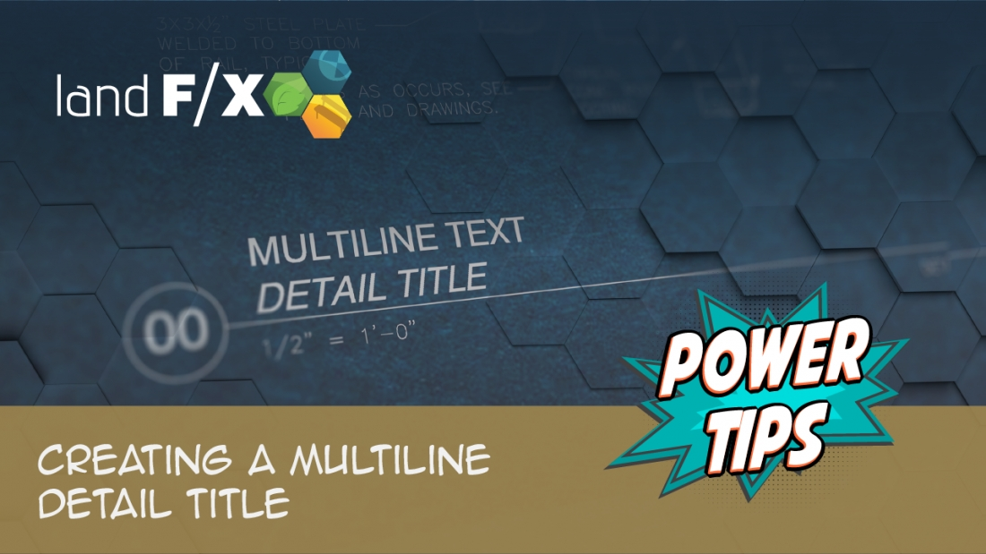 Power Tip: Creating a Multiline Detail Title