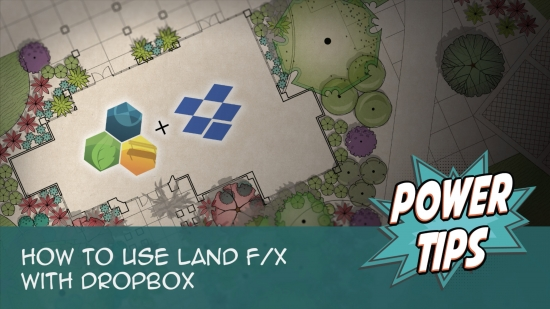 How to use Land F/X with Dropbox