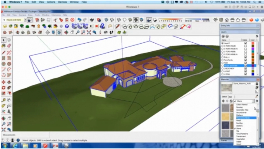 The Land F/X SketchUp Connection: Advanced