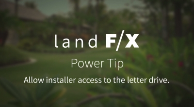 Power Tip: Allow Installer Access to Letter Drive