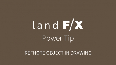 Power Tip: RefNote Object In Drawing