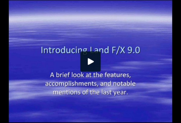 Introducing Land F/X 9.0
