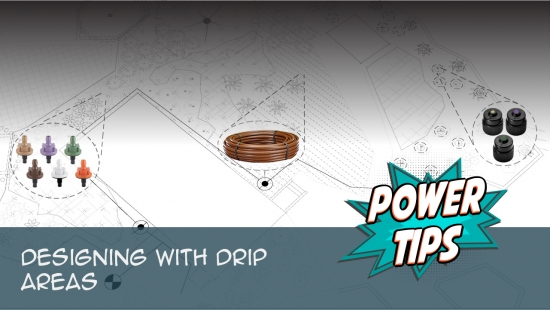 Power Tip Designing With Drip Areas