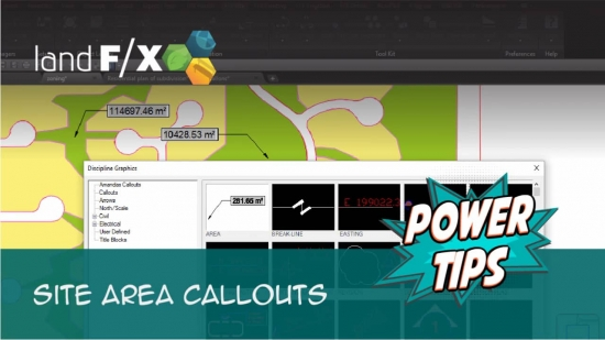 Power Tip: Site Area Callouts