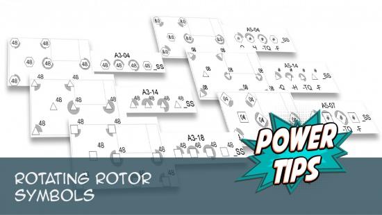 Power Tip: Rotating Rotor Symbols