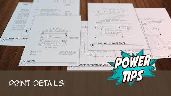 Power Tip: Print Details