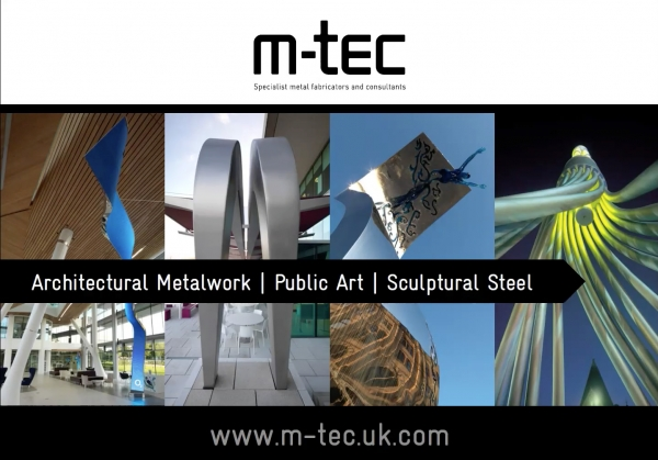 Implementation of Public Art into Landscapes - Presented by Tom Elliot with m-tec