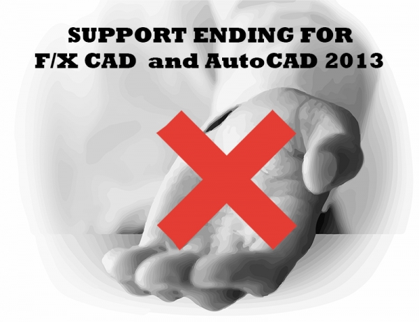 Support for F/X CAD 2013 and AutoCAD 2013