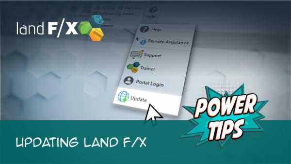 Updating Land F/X