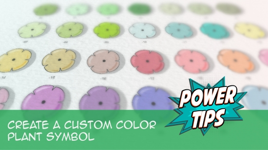 Create a Custom Color Plant Symbol