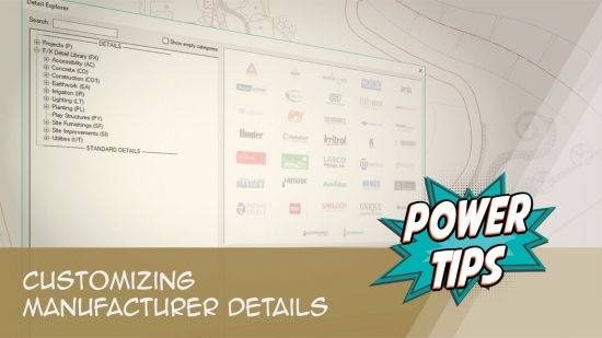 Power Tip: Customizing Manufacturer Details