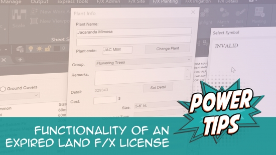 Power Tip: Functionality of an Expired Land FX License