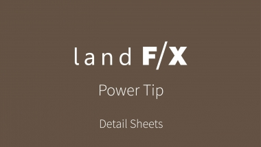 Power Tip: Detail Sheets