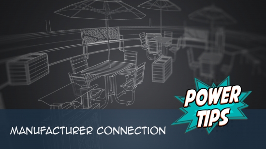 Power Tip: Manufacturer Connection