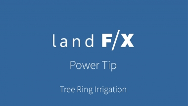 Power Tip: Tree Ring Irrigation