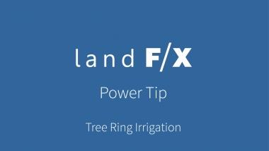 Tree Ring Irrigation