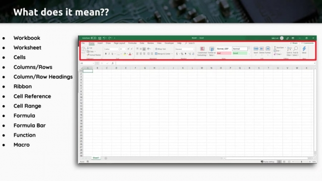 Excel With The Right Tools Webinar Series